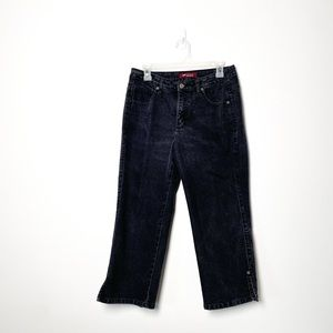 Lee High Waisted Black Vintage Style Jeans